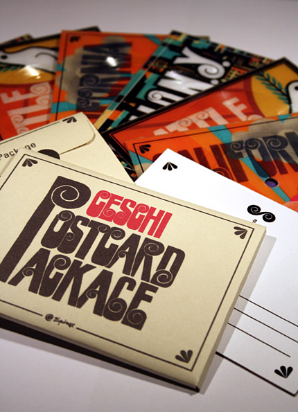 Ceschi - Postcard Package